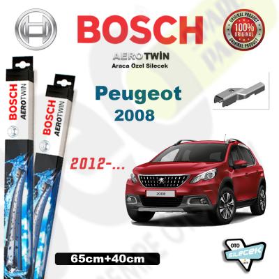 Peugeot 2008 Bosch Aerotwin Silecek Takımı 2013->