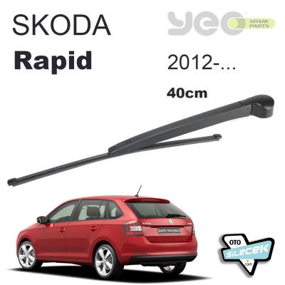 Skoda Rapid Spaceback Arka Silecek Kolu Set 2012-..