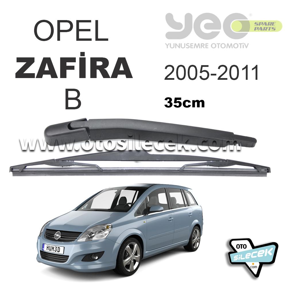 Opel Zafira B Arka Silecek Ve Kolu Yeo 2005 2014 Otosilecek Com