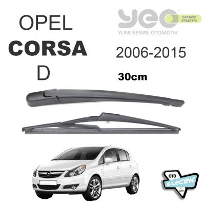 Opel Corsa D Arka Silecek Ve Kolu 2006-2015