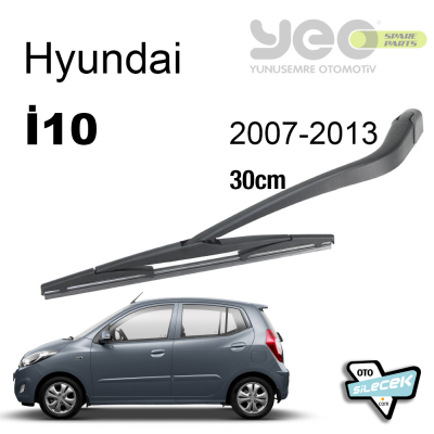 Hyundai i10 Arka Silecek Kolu Set 2007-2013