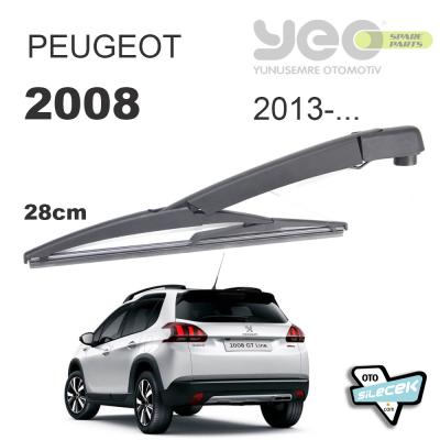 Peugeot 2008 Arka Silecek Kolu 2013-..