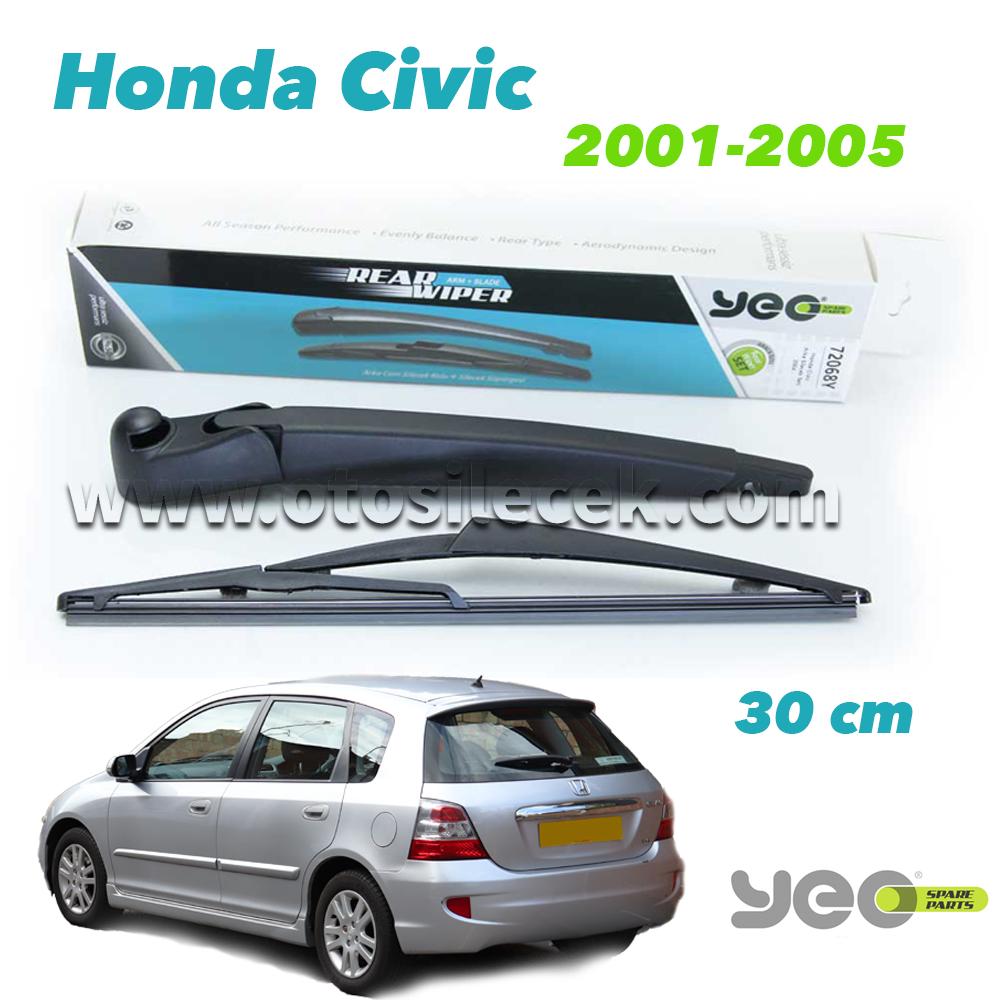 Honda Civic Hb Arka Silecek Kolu Set 2001 2005 Yeo Wiperear 30cm Otosilecek Com