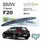BMW 1 Serisi F20 Arka Silecek 2011-..