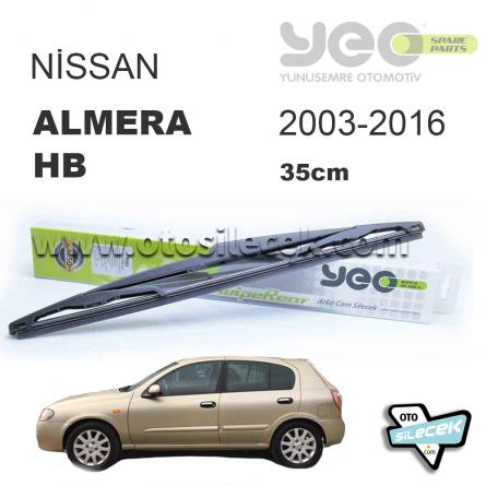 Nissan Almera Arka Silecek 2003-2006