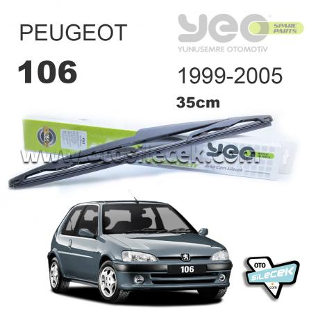 Peugeot 106 Arka Silecek 1999-2005 YEO WipeRear