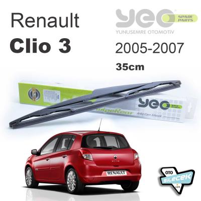 Renault Clio 3 Arka Silecek 2005-2007 YEO WipeRear