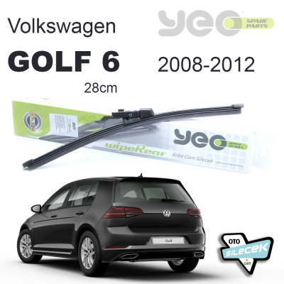 VW Golf 6 Arka Silecek 2008-2012