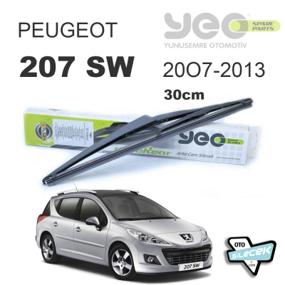 Peugeot 207 SW Arka Silecek 2007-2013