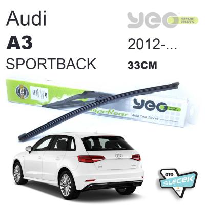 Audi A3 Sportback Arka Silecek 2012-..