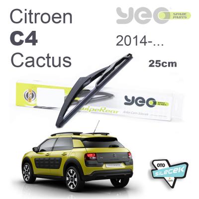 Citroen C4 Cactus Arka Silecek 2014-..