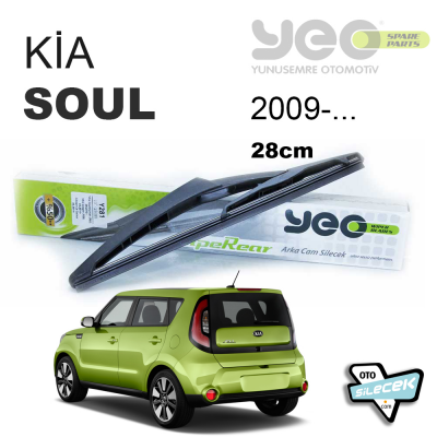 Kia Soul Arka Silecek 2009-> YEO WipeRear