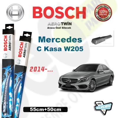 Mercedes C Kasa W205 Bosch Aerotwin Silecek Takımı 2014->