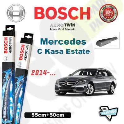 Mercedes C Kasa W205 Estate Bosch Aerotwin Silecek Takımı 2014->