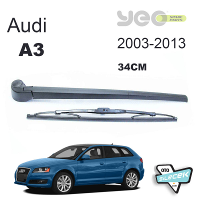 Audi A3 Arka Silecek ve Kolu 2003-2013