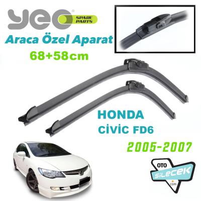 Honda Civic FD6 Silecek Takımı 2005-2007 YEO Aeroflex
