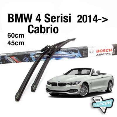 BMW 4 Serisi Cabrio Bosch Silecek Takımı 2014->