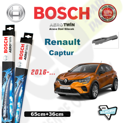 Renault Captur Bosch Silecek Takımı 2016->