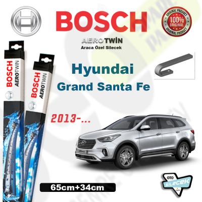 Hyundai Grand Santa Fe Bosch Silecek Takımı 2013->