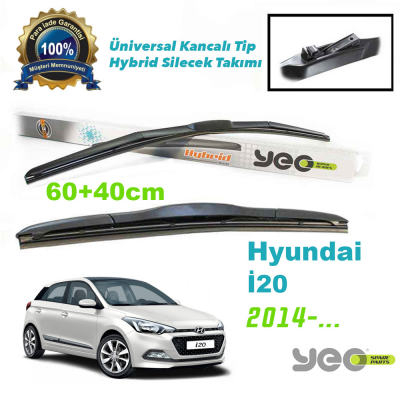 Hyundai i20 Hybrid Silecek Takımı YEO 2014->