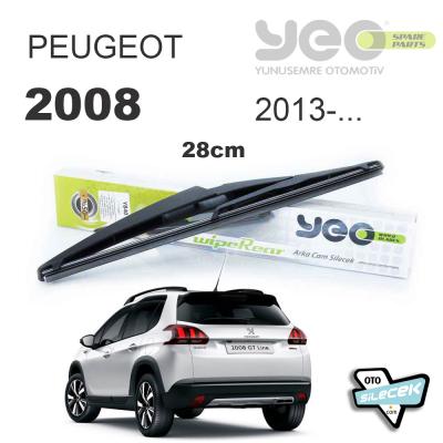 Peugeot 2008 Arka Silecek 2013-..