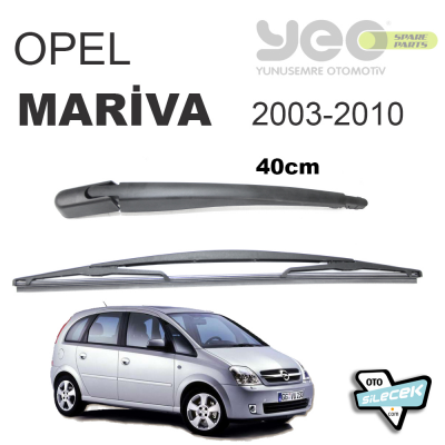 Opel Meriva A Arka Silecek ve Kolu 2003-2010