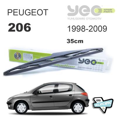 Peugeot 206 Arka Silecek 1998-2009
