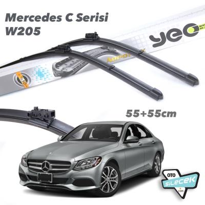 Mercedes C Serisi W205 YEO Aeroflex Ön Silecek Takımı 2014->