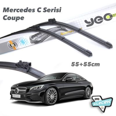Mercedes C Serisi Coupe YEO Aeroflex Silecek Takımı 2015->