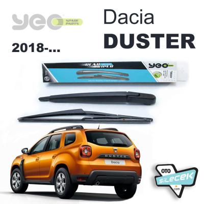 Dacia Duster Arka Silecek Kolu Set 2018-..