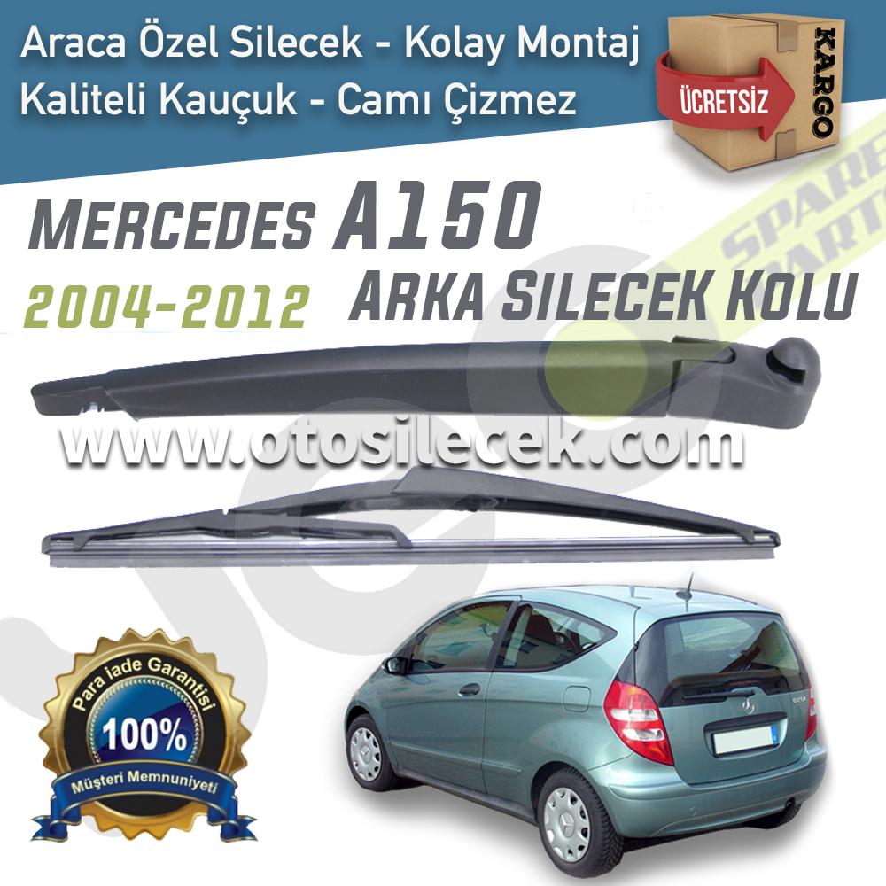 Mercedes A150 Arka Silecek Kolu Komple Set 2004 2012 30cm Otosilecek Com