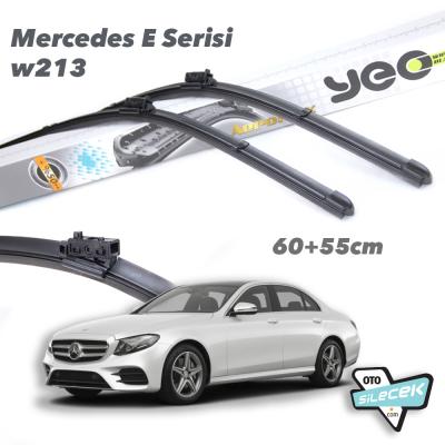 Mercedes E Serisi W213 YEO Aeroflex Ön Silecek Takımı 2016->