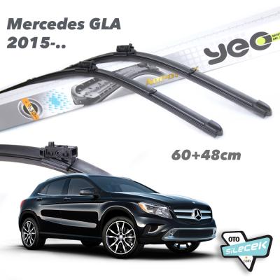 Mercedes GLA-Class YEO Aeroflex Ön Silecek Takımı 2015->