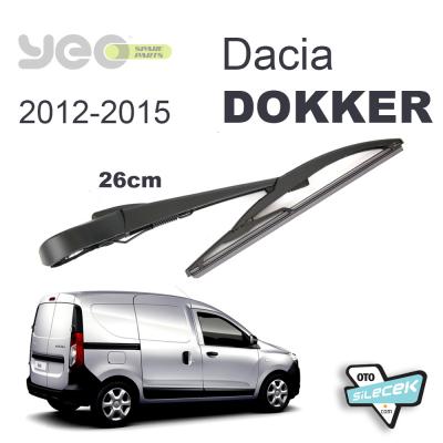 Dacia Dokker Arka Silecek Kolu Set 2012-2015