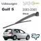 VW Golf 5 Arka Silecek Ve Kolu 2003-2005