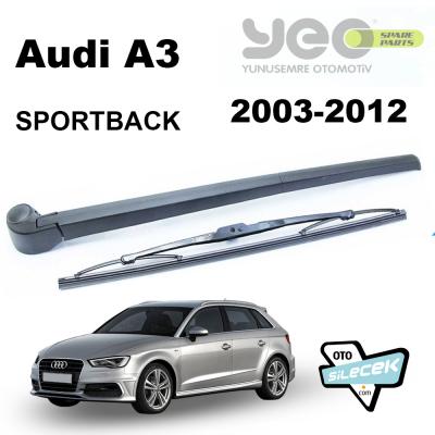 Audi A3 Sportback Arka Silecek ve Kolu 2004-2013