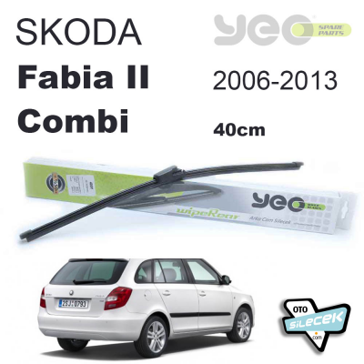 Skoda Fabia 2 Combi 35cm Arka Silecek 2006-2013