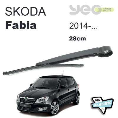 Skoda Fabia Arka Silecek Ve Kolu 2014-..