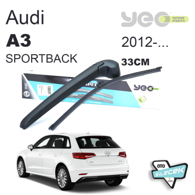 Audi A3 Sportback Arka Silecek ve Kolu 2012-..