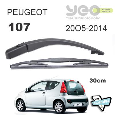 Peugeot 107 Arka Silecek Kolu Set 2005-2014