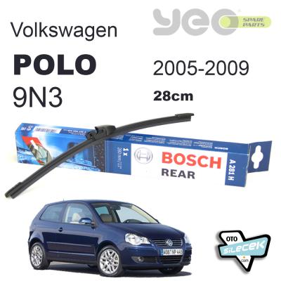 Volkswagen Polo (9N3) Bosch Arka Silecek süpürgesi 2005-2009