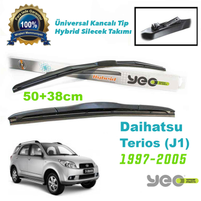 Daihatsu Terios (J1) Hybrid Silecek Takımı YEO 1997-2005