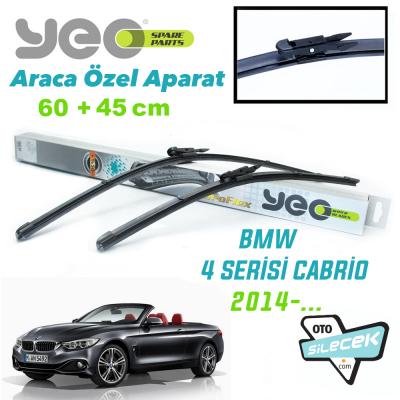 BMW 4 Serisi Cabrio Silecek Takımı YEO 2014-..