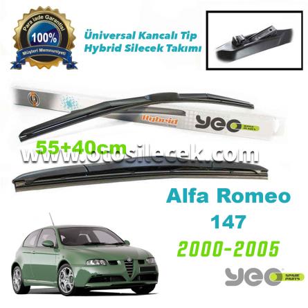 Alfa Romeo 147 YEO Hybrid Silecek Takımı 2000-2005