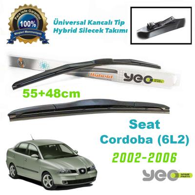 Seat Cordoba (6L2) YEO Hybrid Silecek Takımı 2002-2006
