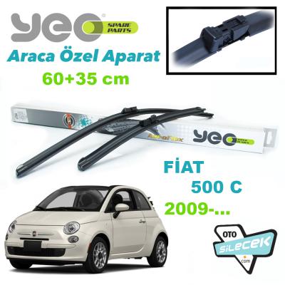 Fiat 500 C Silecek Takımı YEO Aeroflex 2009-..