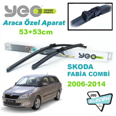 Skoda Fabia Combi Silecek Takımı YEO 2006-2014
