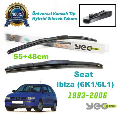 Seat Ibiza (6K1-6L1) YEO Hybrid Silecek Takımı 1993-2006