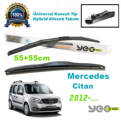 Mercedes Citan YEO Hybrid Silecek Takımı 2012-...>