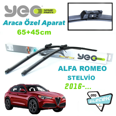 Alfa Romeo Stelvio YEO Ön Silecek Takımı 2016->